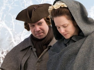 Paul Giamatti and Laura Linney as John and Abigail Adams, in HBO's <i>John Adams</i>