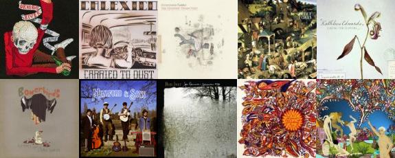 Albums, 2008