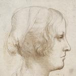 Portrait of a young woman, detail, Leonardo da Vinci c.1485-90