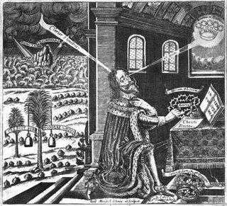 Charles I, as depicted in the <i>Eikon Basilike</i>