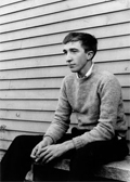 So too is this photo of Updike.