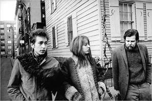 Bob Dylan, Suze Rotolo and Dave Van Ronk