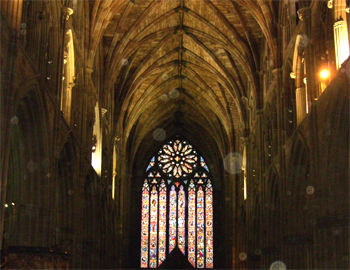 Worcester Cathedral's Rose Window