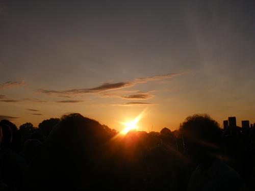 Sunset @ Hyde Park
