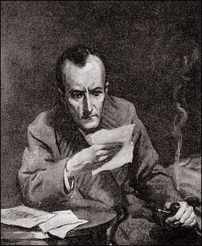 """""""'Dear me, Watson,' said Holmes, staring with great curiosity..."""""""