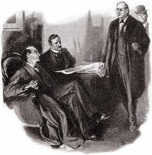 """Mycroft Holmes spoke with a solemnity which showed his sense of the importance of the subject."""