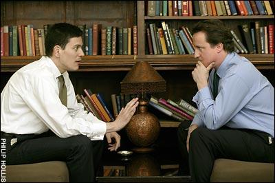 Davids Milliband and Cameron